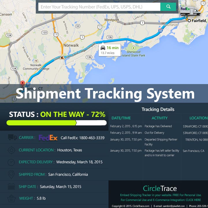 UNIVERSAL SHIPMENT TRACKING SYSTEM - Pixellet